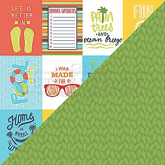 Summertime Double-Sided Cardstock 12