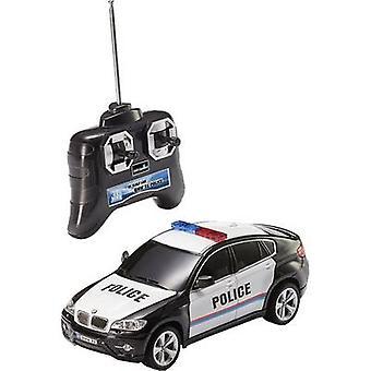 Revell Control 24655 BMW X 6 politie 1:24 RC Modelauto voor beginners elektrische Road versie RWD