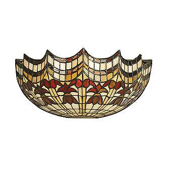 Interiors 1900 Vesta Wall Bowl Uplighter Tiffany