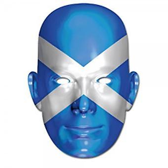 Union Jack tragen Schottland Gesichtsmaske