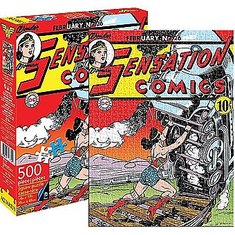 Wonder Woman Sensation Comics 500 Piece Jigsaw Puzzle (62106)