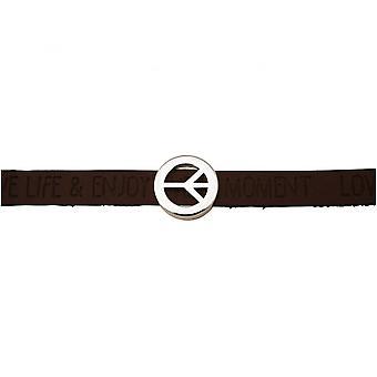 Women - bracelet - harmony - peace - WISHES - Brown dark - magnetic closure