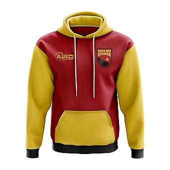 Papa New Guinea Concept Country Football Hoody (Red)