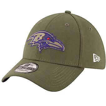 Nuova era 39Thirty Cap - saluto al servizio, Baltimore Ravens