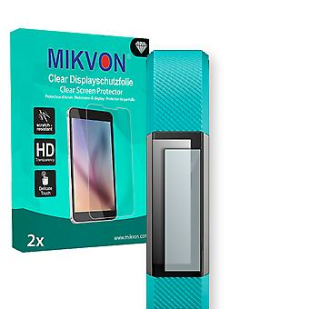 Fitbit Alta Screen Protector - Mikvon Clear (Retail Package with accessories) (intentionally smaller than the display due to its curved surface)
