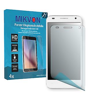 Alcatel One Touch Idol 2 Mini S Screen Protector - Mikvon Armor Screen Protector (Retail Package with accessories)
