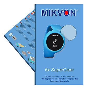 iHealth AM3 screen protector- Mikvon films SuperClear (intentionally smaller than the display due to its curved surface)