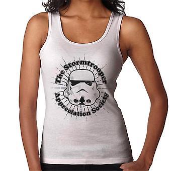 Colete original Stormtrooper apreciação sociedade de mulheres