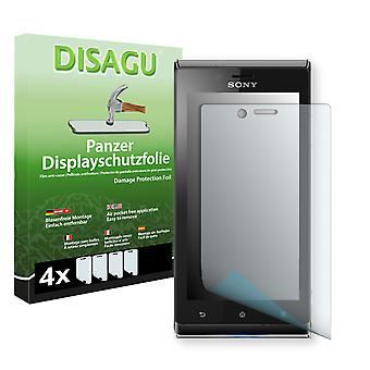 Sony Xperia ST26 display protector - Disagu tank protector protector