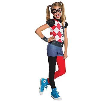 Robijnen Costume van Harley Quinn Fancy Dress-Jumpsuit Set
