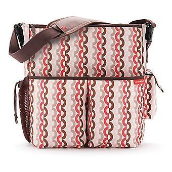 Skip Hop Duo Deluxe Diaper Bag, Pink Geo