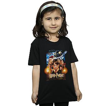 Harry Potter Mädchen der Zauberer Stein Poster T-Shirt