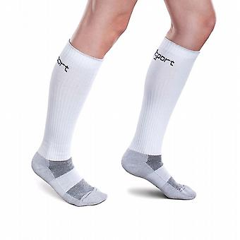 Therafirm Core-Sport Compression Socks [Style AD10] Grey  M