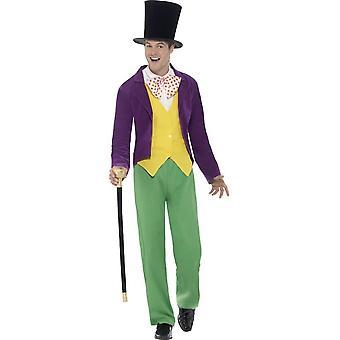 Roald Dahl Willy Wonka Costume, Large