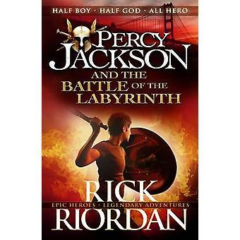 Percy Jackson und die Schlacht des Labyrinths - BK 4 von Rick Riordan