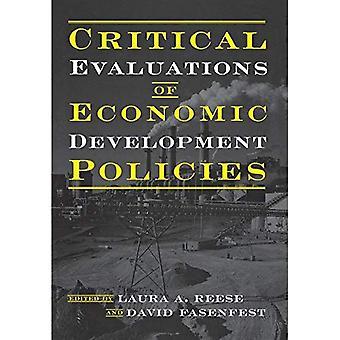 Évaluation critique des politiques de développement économique
