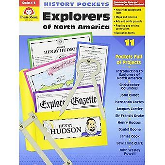 History Pockets: Explorers of North America: Grades 4-6