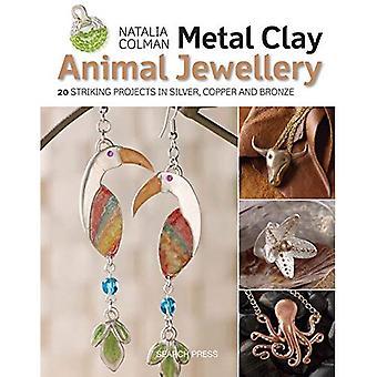 Joyas de metal Animal de arcilla: 20 proyectos llamativas en plata, cobre y bronce