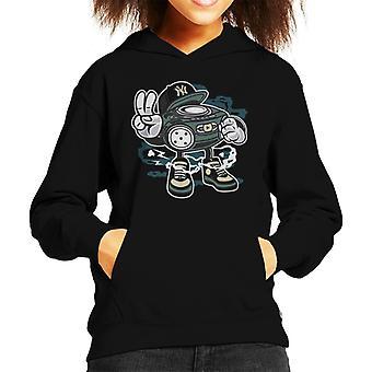 Beatbox Hifi Man Kid de Hooded Sweatshirt