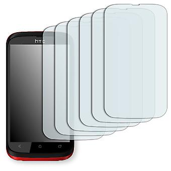 HTC desire Q screen protector - Golebo crystal clear protection film