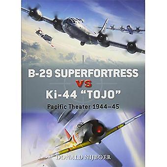 B-29 Superfortress vs Ki-44 \