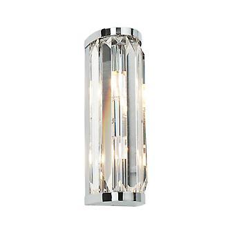 Lámpara de pared de baño de cristal - Almeria 39629