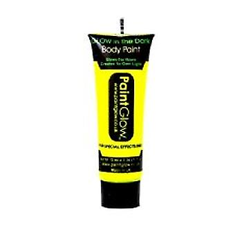 Neon Yellow Glow in the Dark Face & Body Paint