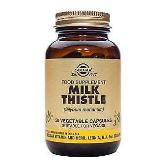 Solgar Full Potency Milk Thistle Vegetable Capsules, 50