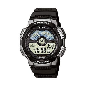 Casio digital watch quartz men with resin band AE-1100W-1AVEF