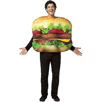Cheeseburger Adult Costume