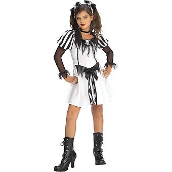 Goth Pirate Costume For Girl (Toddler, Teen)