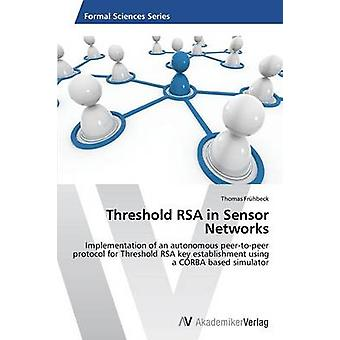 Threshold RSA in Sensor Networks by Frhbeck Thomas