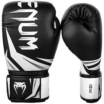 Venum Challenger 3.0 krok & Loop boxning utbildning handskar - svart/vit