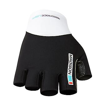 Madison Black-Blue Curaco 2015 Road Race Fingerless Cycling Gloves
