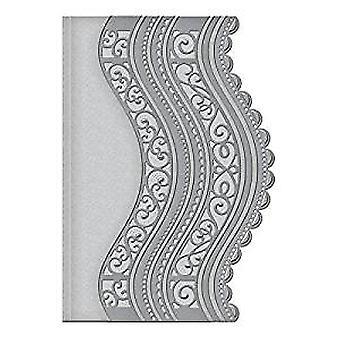 Spellbinders Card Creator Curved Borders Two Die (S5-201)