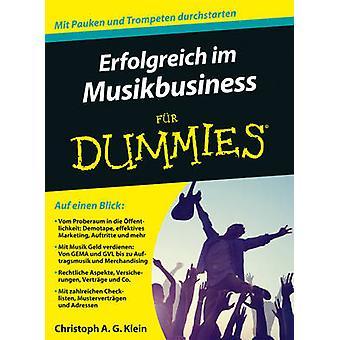Erfolgreich im Musikbusiness Fur Dummies by Christoph A. G. Klein - 9