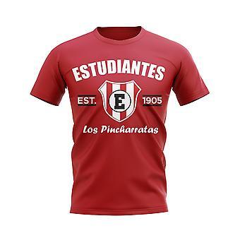 Camiseta de fútbol establecida de estudiantes de la plata (red)