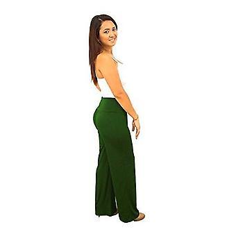 Dbg women's palazzo cotton 12 oz pants
