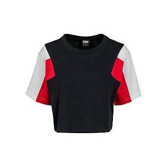 Urban Classics Women's T-Shirt 3-Tone Short Oversize