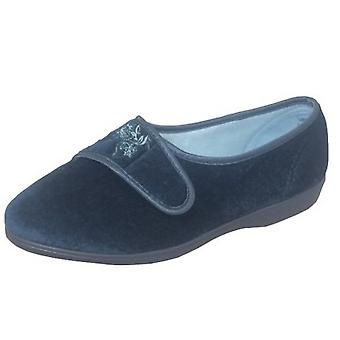 Sleepers Womens/Ladies Maud Wide Fitting Slippers