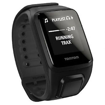Runner 2 GPS Watch With Music Black Small