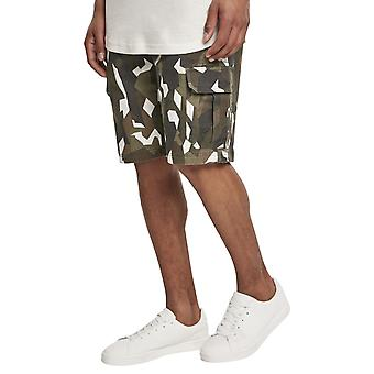Urban Classics - Stretch Twill Cargo Shorts wood camo