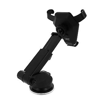 QI charging Car Mount Suction Cup and Ventilation Grill Attachment Black
