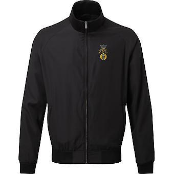 Royal Irish Fusliers-licenciado British Army bordados Harrington Jacket