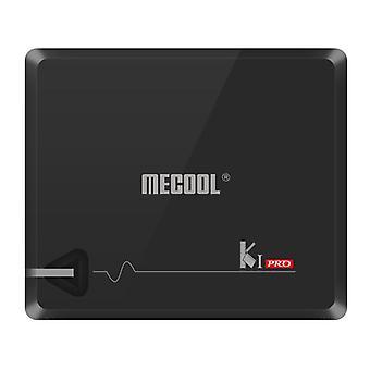 Mecool ki pro amlogic s905d 2gb ddr4 ram 16gb rom dvb-t2 dvb-s2 cccam newcam biss key tv box