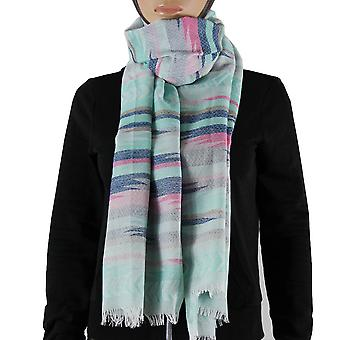 Scarf/shawl/Shawl 100% Pashmina Green Multi Color