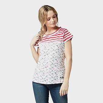 New Peter Storm Women's Patsy Short Sleeve T-Shirt White