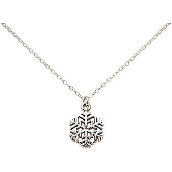 Gemshine plata mujer colgante collar - C2795FDp