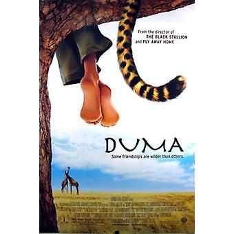 Duma (Doppelseitige regelmäßige) Original Kino Poster