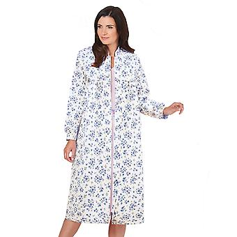 Ladies Womens Lightweight Housecoat